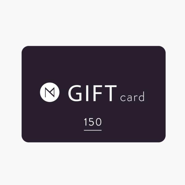 Maison numen gift card 150 dollars.