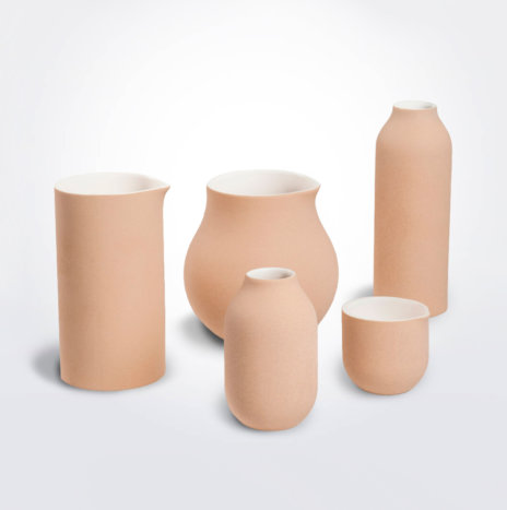 Beige Decorative Vase Set