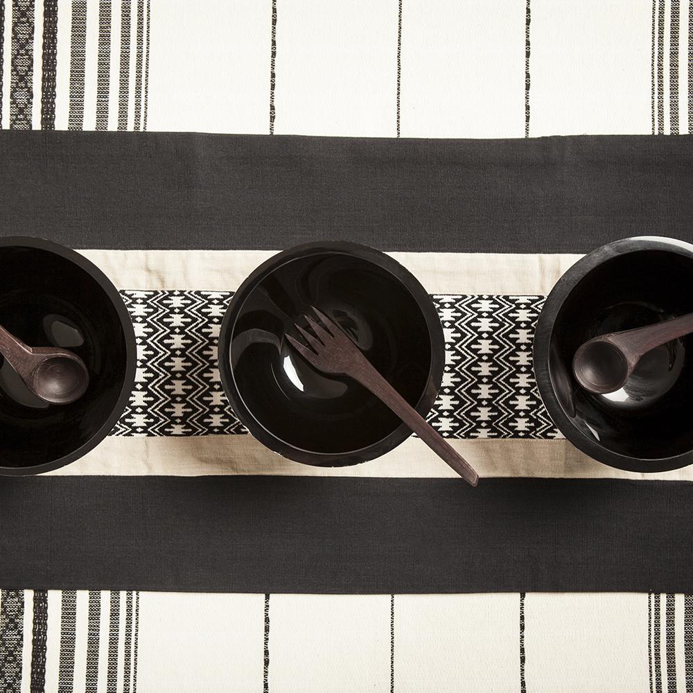 Cotton-black-table-runner-4