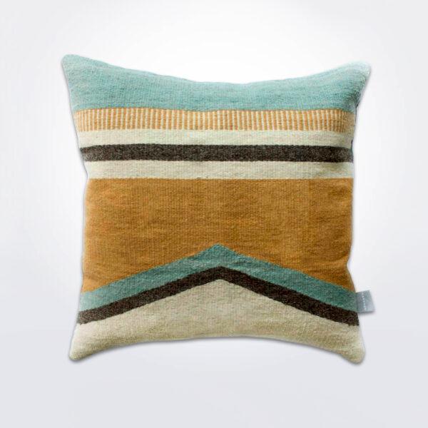 Granada v wool pillow cover.