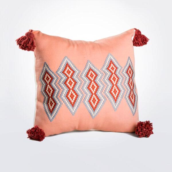 Pink Guatemalan Pillow Cover