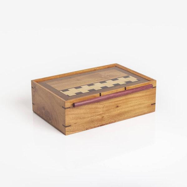 LIGHT WOOD TEA BOX II