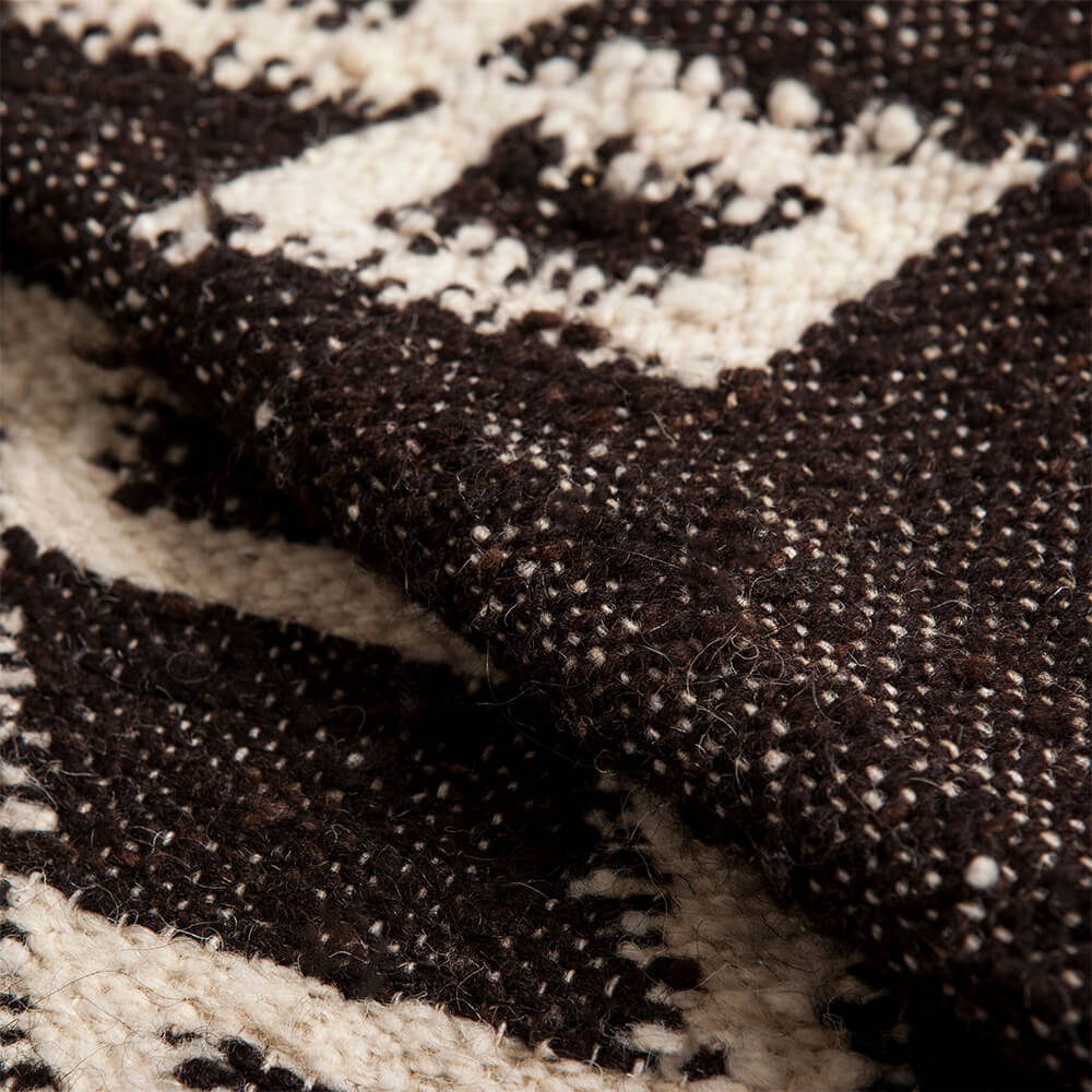 Mayan-dark-brown-wool-rug-3