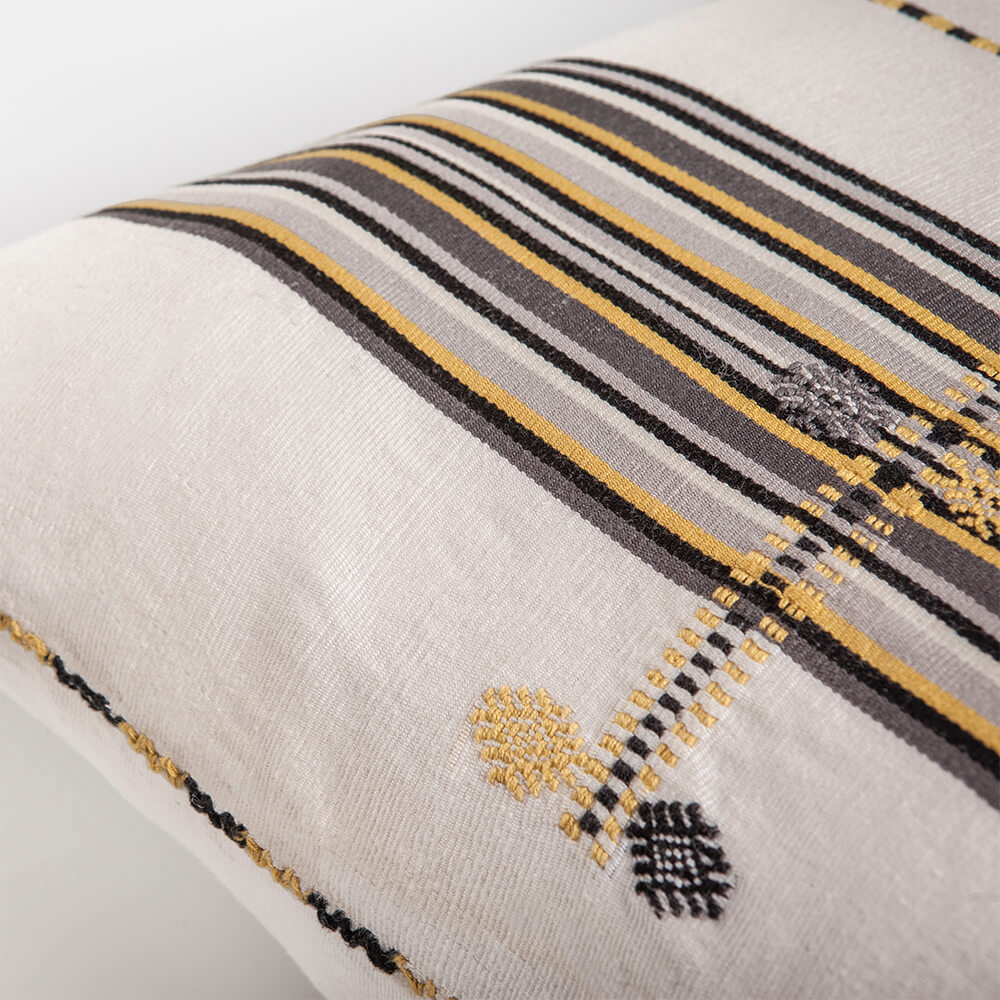 MEXICAN YELLOW PILLOW COVER 3