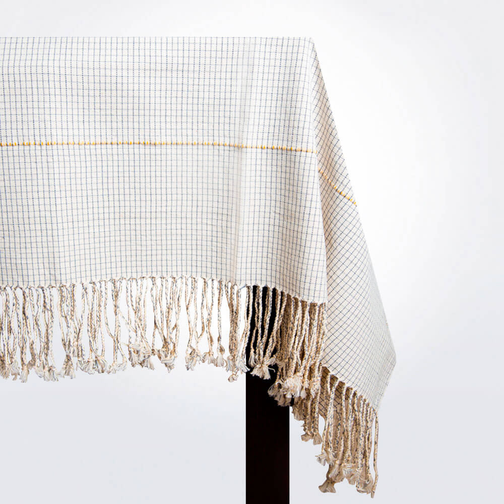 Mexican-hand-woven-tablecloth-coverlet