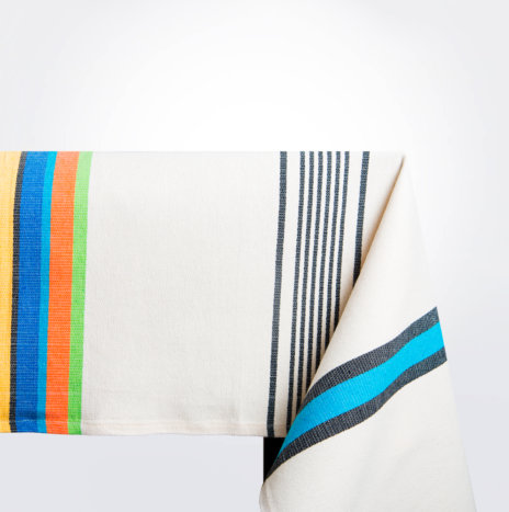 Multicolor Cotton Tablecloth
