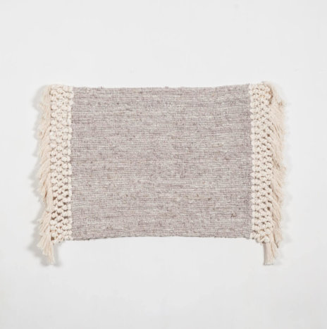 NATURAL COTTON AREA RUG 2