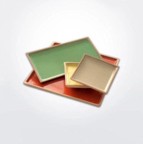 Stoneware Platter Set