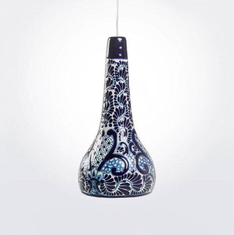 Talavera Style Pendant Lamp