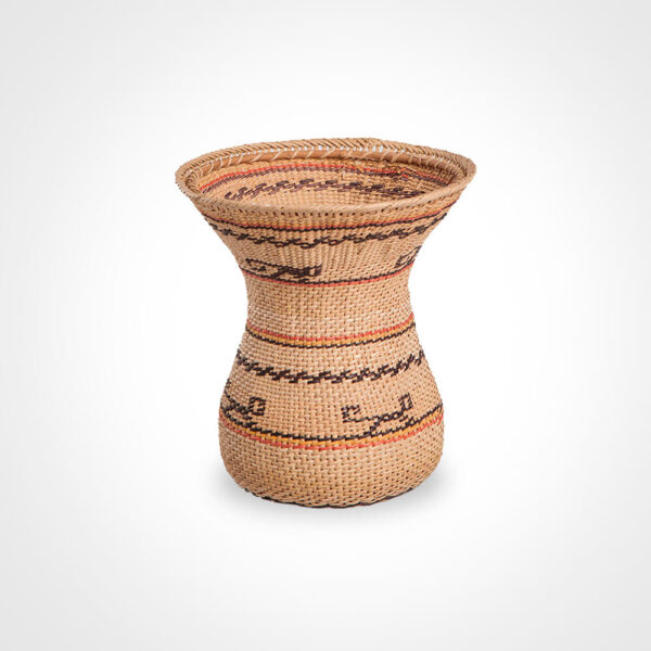 Wowa amazonian basket iii gray background.