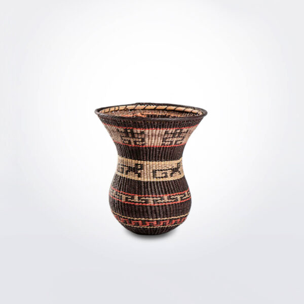 Wowa amazonian basket extra small gray background.