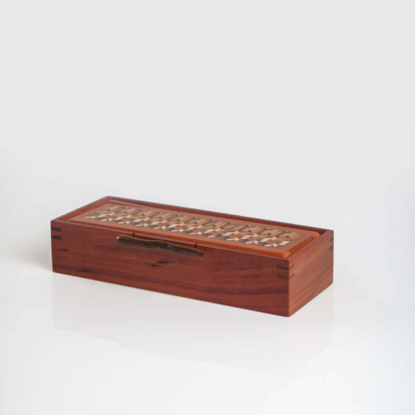 WOOD BOX WITH HANDLE 11