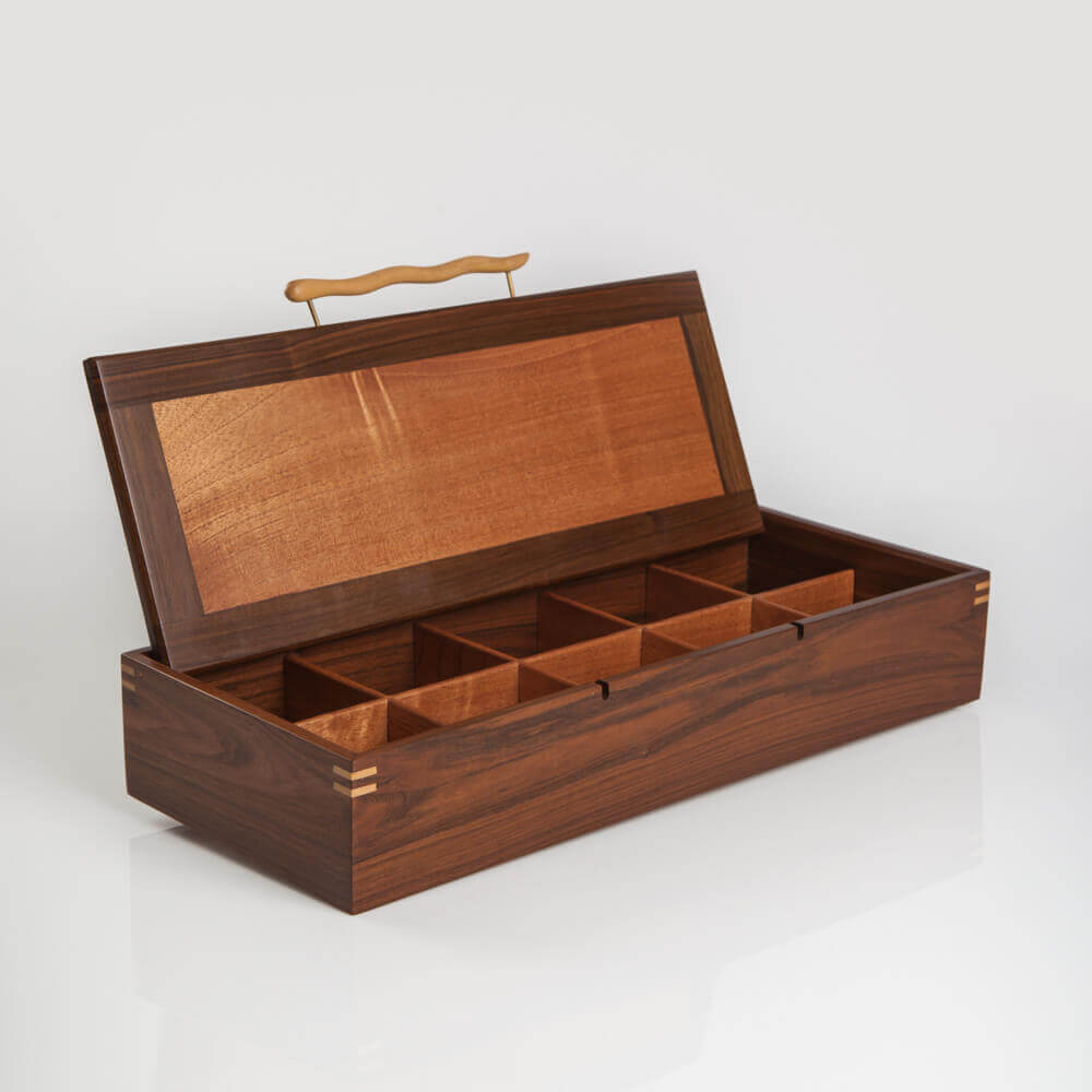 WOOD BOX WITH HANDLE 7