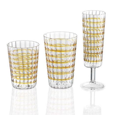 Amber Glass Set