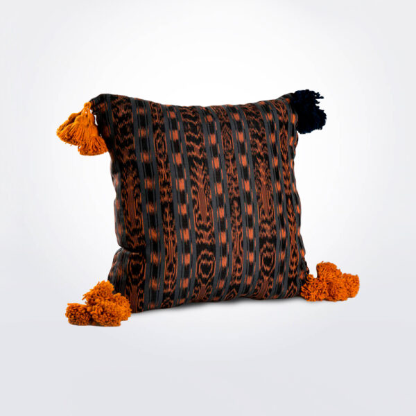Artesano pillow cover with pillow.