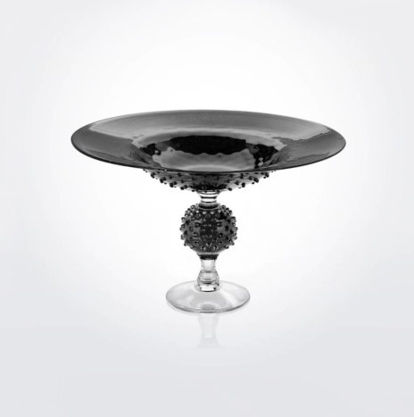Black Glass Centerpiece