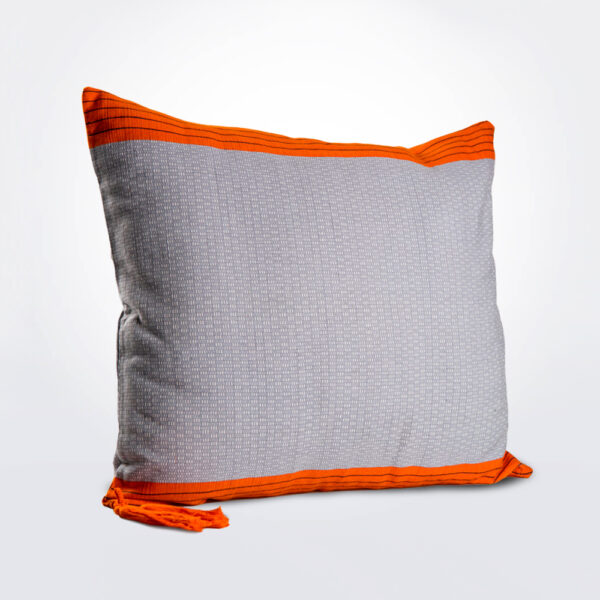 Striped throw pillow cover.