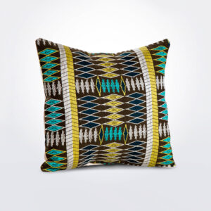 Natural pillow cover with pillow.