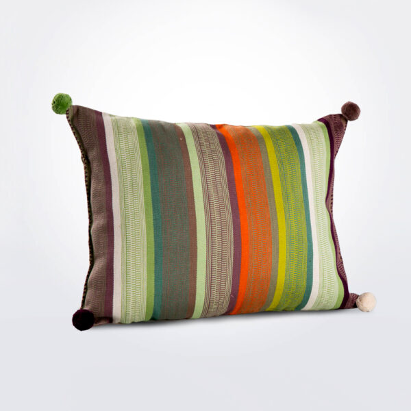 Juana rectangular pillow cover product photo.
