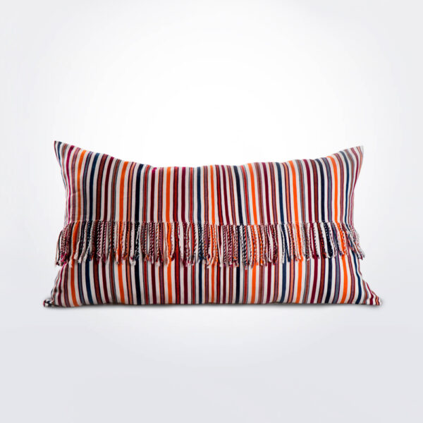 Juana multicolor pillow cover.