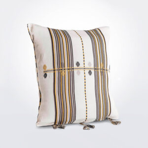 Yellow Mexican Pillow Cover product photo.