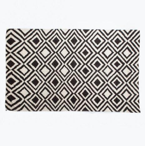 Multi Diamond Wool Rug