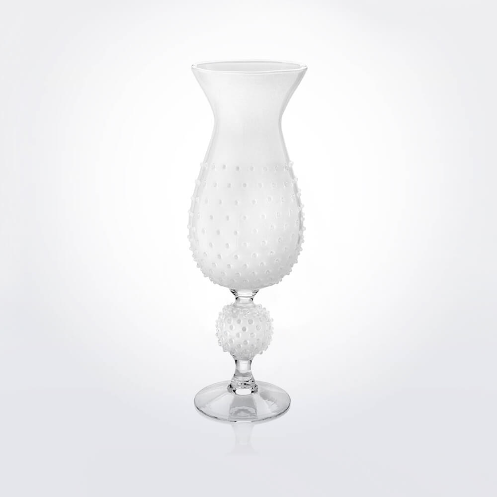 White-glass-spiky-vase
