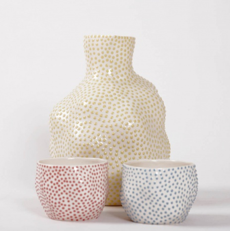 DOTTED SAKE SET