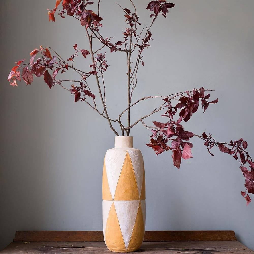 Geometric-clay-vase-1