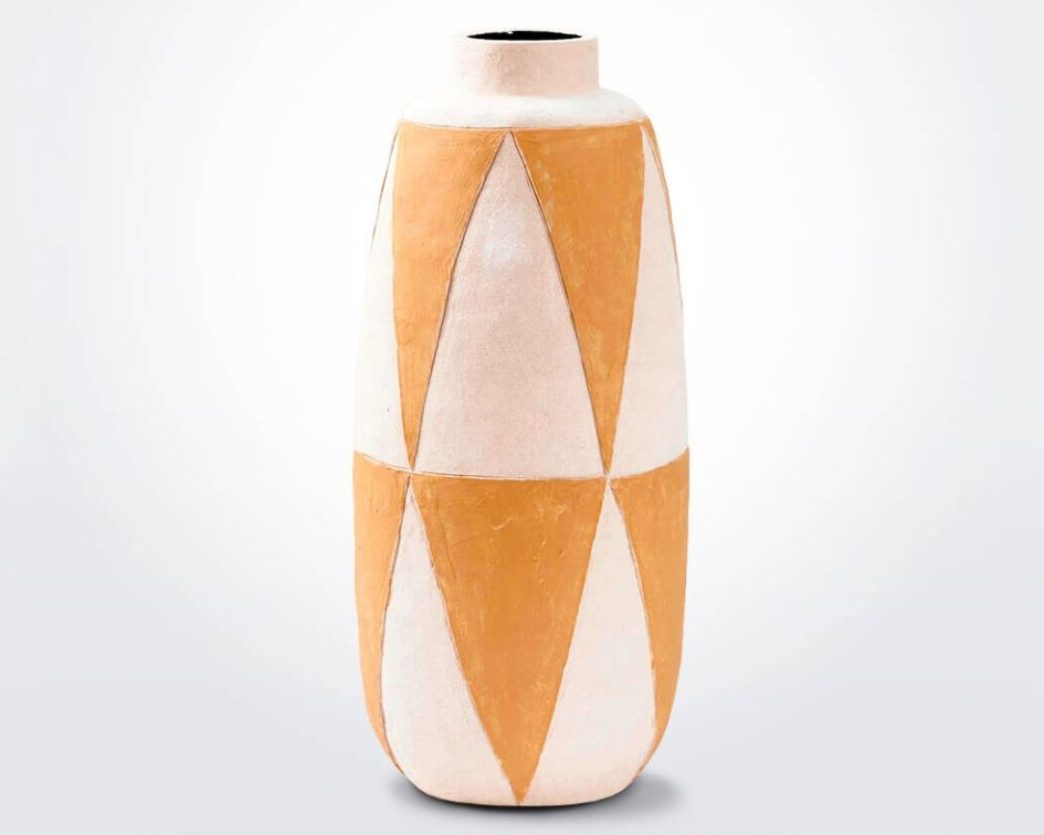 Geometric-clay-vase-product-photo-7
