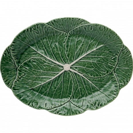 CABBAGE OVAL PLATTER 43