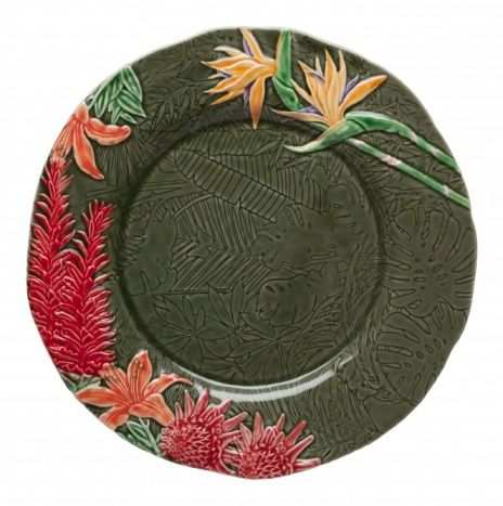 TROPICAL CHARGER PLATE 34.5