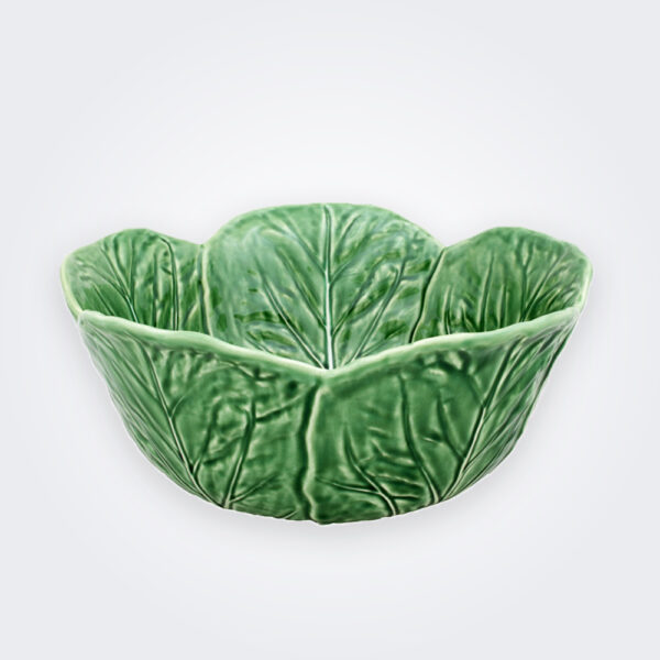 Cabbage deep salad bowl product picture.