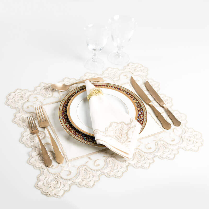 Golden-embroidered-placemats-4