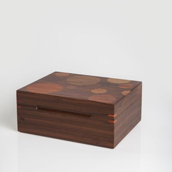 Wood Tea Box IV product photo.