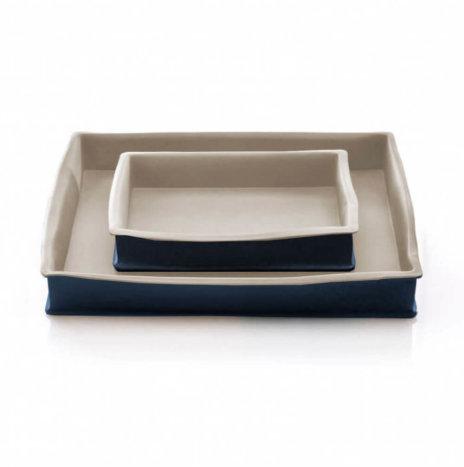 Stoneware Baking Pan Set
