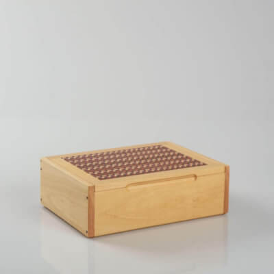 WOODEN DOMINO BOX 1