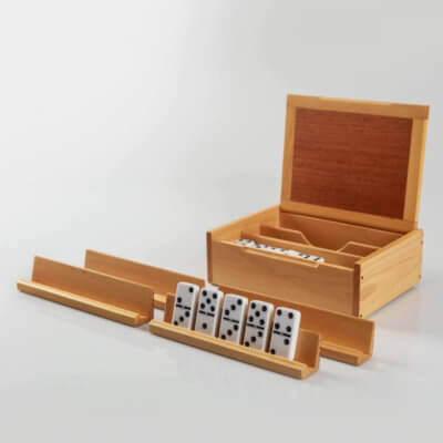 WOODEN DOMINO BOX 4