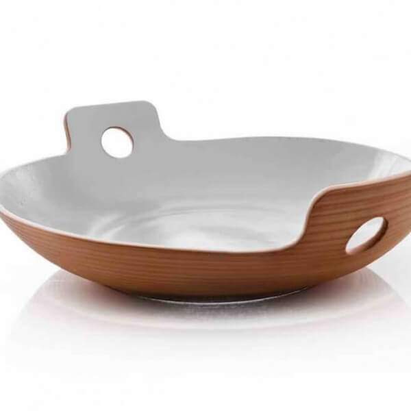 handmade spaghetti bowl