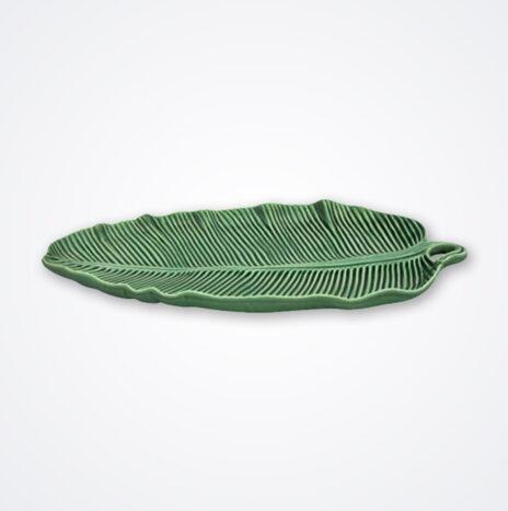 Large Banana Leaf Shaped Platter