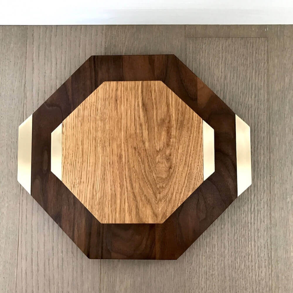 OCTAGON SERVING BOARD SET