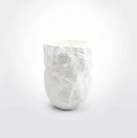 Crockery White Vase (Small)