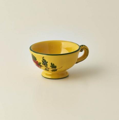 GIALLO FIORE COFFEE CUP