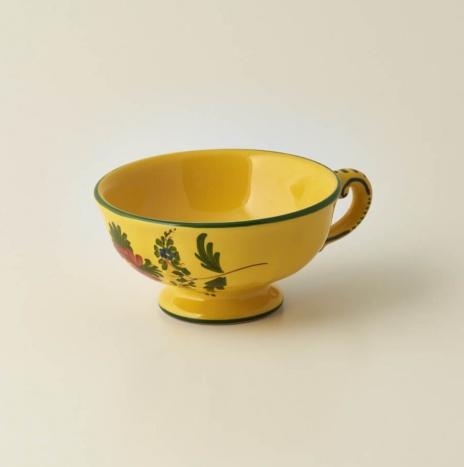 GIALLO FIORE TEA CUP