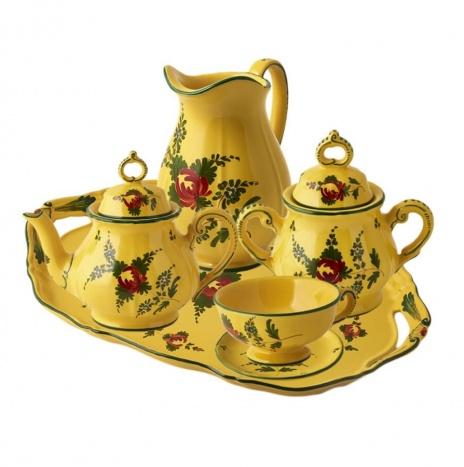 GIALLO FIORE TEA SERVICE
