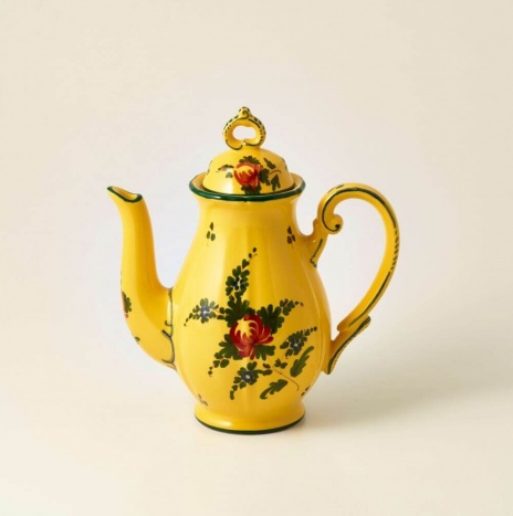 GIALLO FIORE COFFEE POT