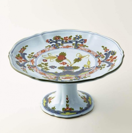 FRUIT PLATE WITH HANDLES