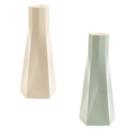 SET OF 2 TALL VASES