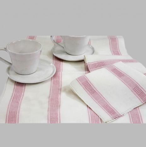 LINEN TEA TABLECLOTH