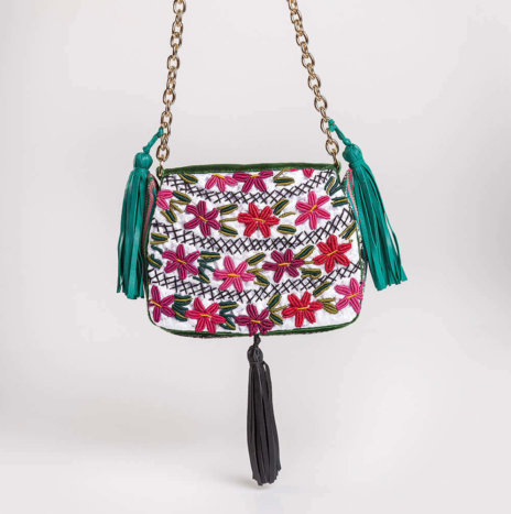EMBROIDERED ROKI BAG